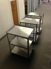 Medical Utility Steel Cart Treatment Cabinet for sale