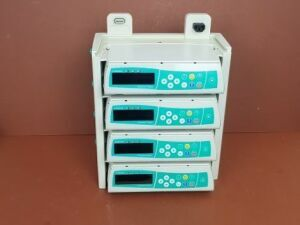 B.BRAUN Infusion Pump  Infusomat Space x 4 +Braun Charging Docking Station Pump IV Infusion for sale