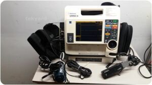 MEDTRONIC PHYSIO CONTROL LifePak 12 VLP12-02-003781 3D Biphasic  Monitor Defibrillator for sale