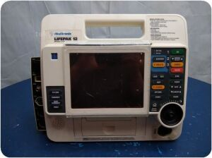 MEDTRONIC PHYSIO CONTROL LifePak 12 VLP12-02--002277 3D Biphasic Defibrillator for sale