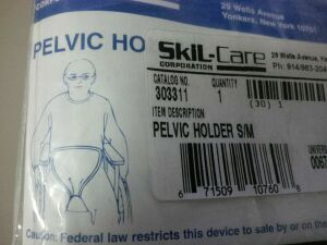 SKIL-CARE Pelvic Holder Straps attach Wheelchair for sale