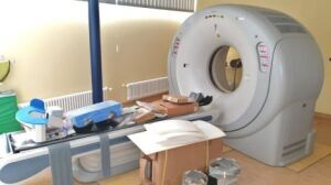 TOSHIBA Aquilion 16 w/ defective tube CT Scanner for sale