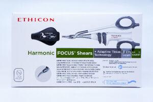 ETHICON HAR9F HARMONIC FOCUS Shears, Length 9cm, Adaptive Tissue Tech. ~Box of 6 Sutures for sale