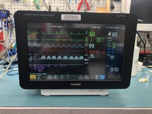 PHILIPS MX550 Anesthesia with G7 5 Agent Module Monitor for sale