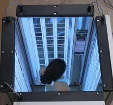 New National Biologic Foldalite Iii 32 Phototherapy Lamp