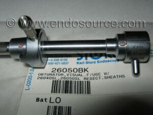 STORZ 27050BK Schmiedt Visual Obturator 26050BK Urological Instrument for sale