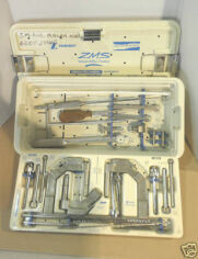 ZIMMER ZMS Fracture Managment Intramedullary Fixation Femoral Tibial  Humeral Instrument Set Orthopedic - General for sale