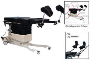 BIODEX 058-820 3D Imaging C-Arm Table Brachytherapy for sale