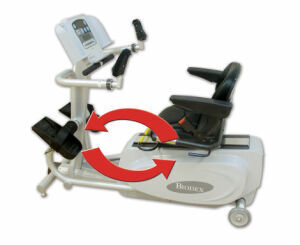 BIODEX BioStep®2 Semi-Recumbent Elliptical Physical Therapy Unit for sale