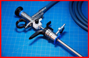 OLYMPUS 10 Piece Urethro /Cysto / Hystero System BEAUTIFUL O/R Instruments for sale