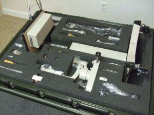 TOPCON SL-6E +Haag R900 Slitlamp for sale