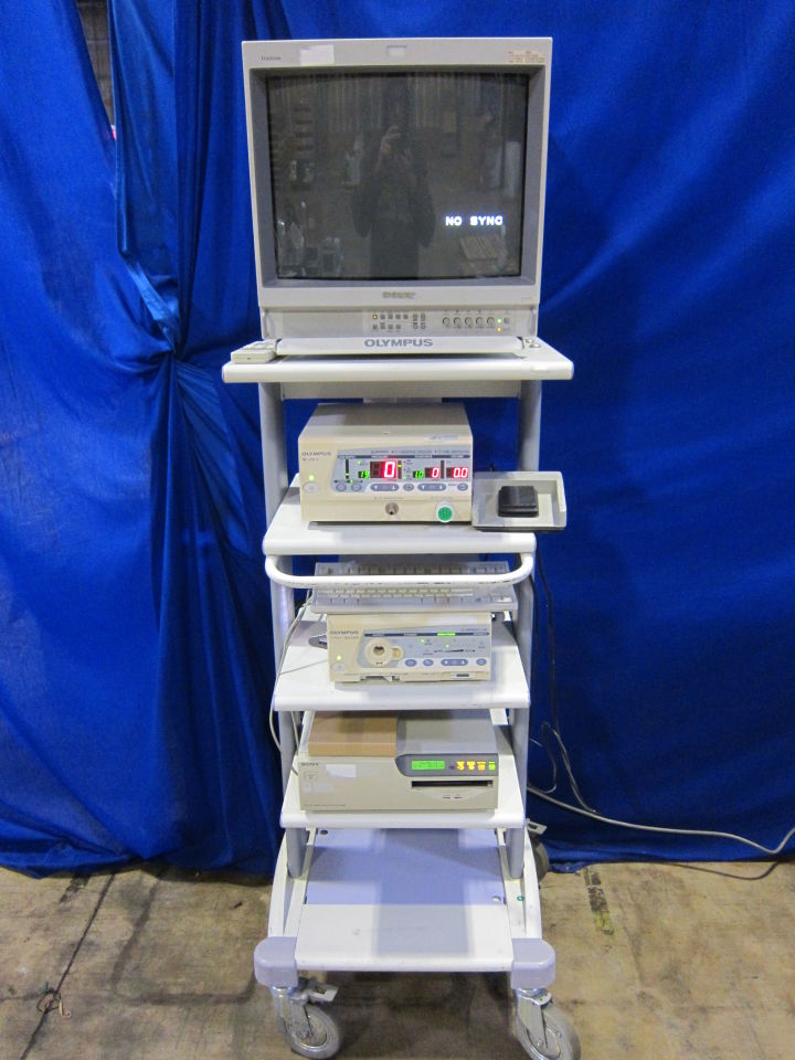 Endoscopy Processing Room: Various Video Endoscopy Auction