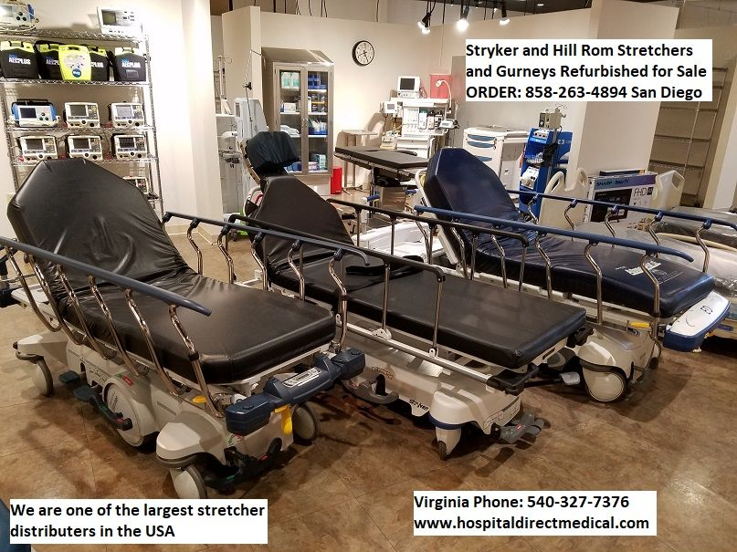 Stryker stretcher - gurneys for sale used - refurbished