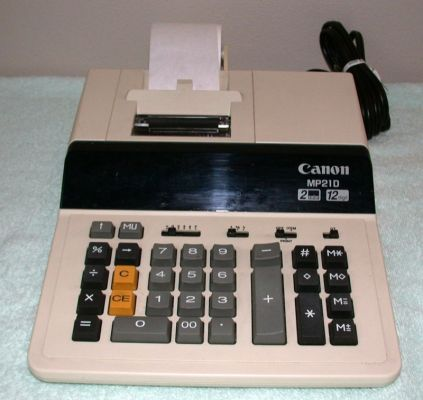 used canon mp210 printing calculator for sale dotmed listing 598512
