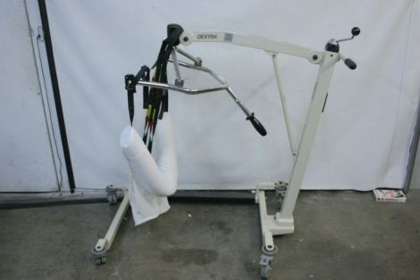 Used Arjo Dextra Patient Lift Lift Chair For Sale Dotmed