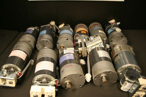 Used hill rom electric gear motors motors only for Electric motor repair orlando