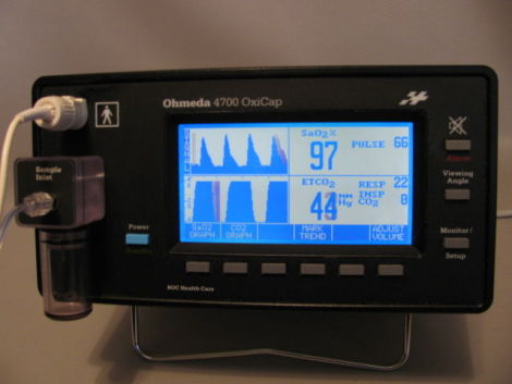 used datex ohmeda 4700 oxicap monitor icu ccu for sale dotmed rh dotmed com Datex-Ohmeda Pulse Oximeter Datex-Ohmeda Aestiva 5