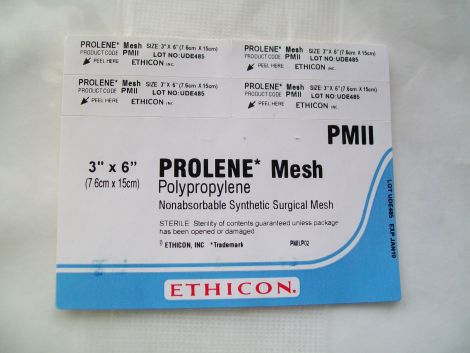 New Ethicon Prolene Mesh Pmii Disposables General For
