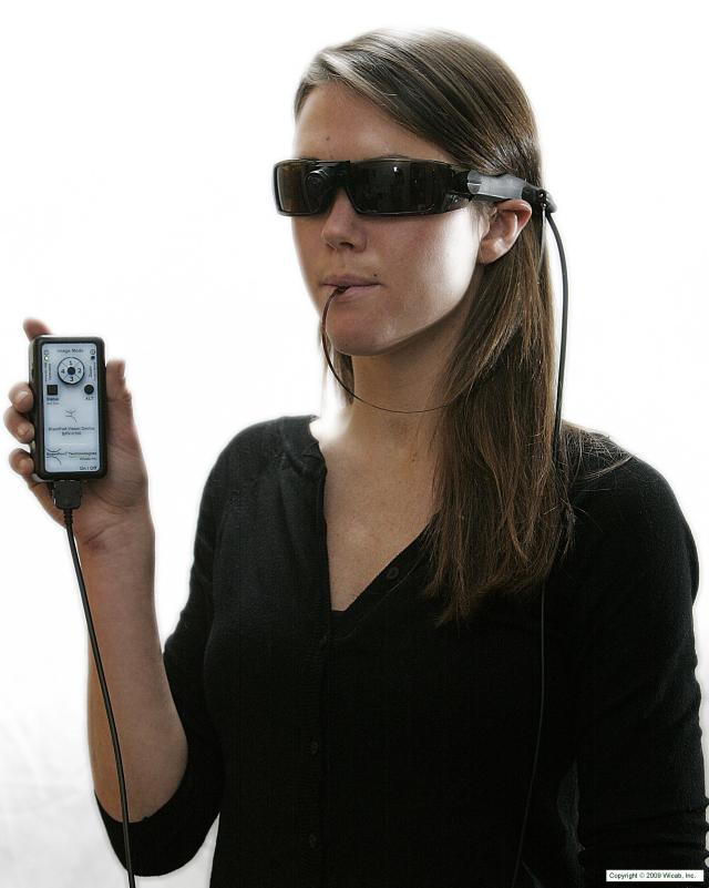 brain port device Brainport - brainport uses electrodes to send visual information from the tongue to the brain find out how the brainport system transmits visual signals.